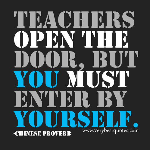 Quotes For Students From Teachers