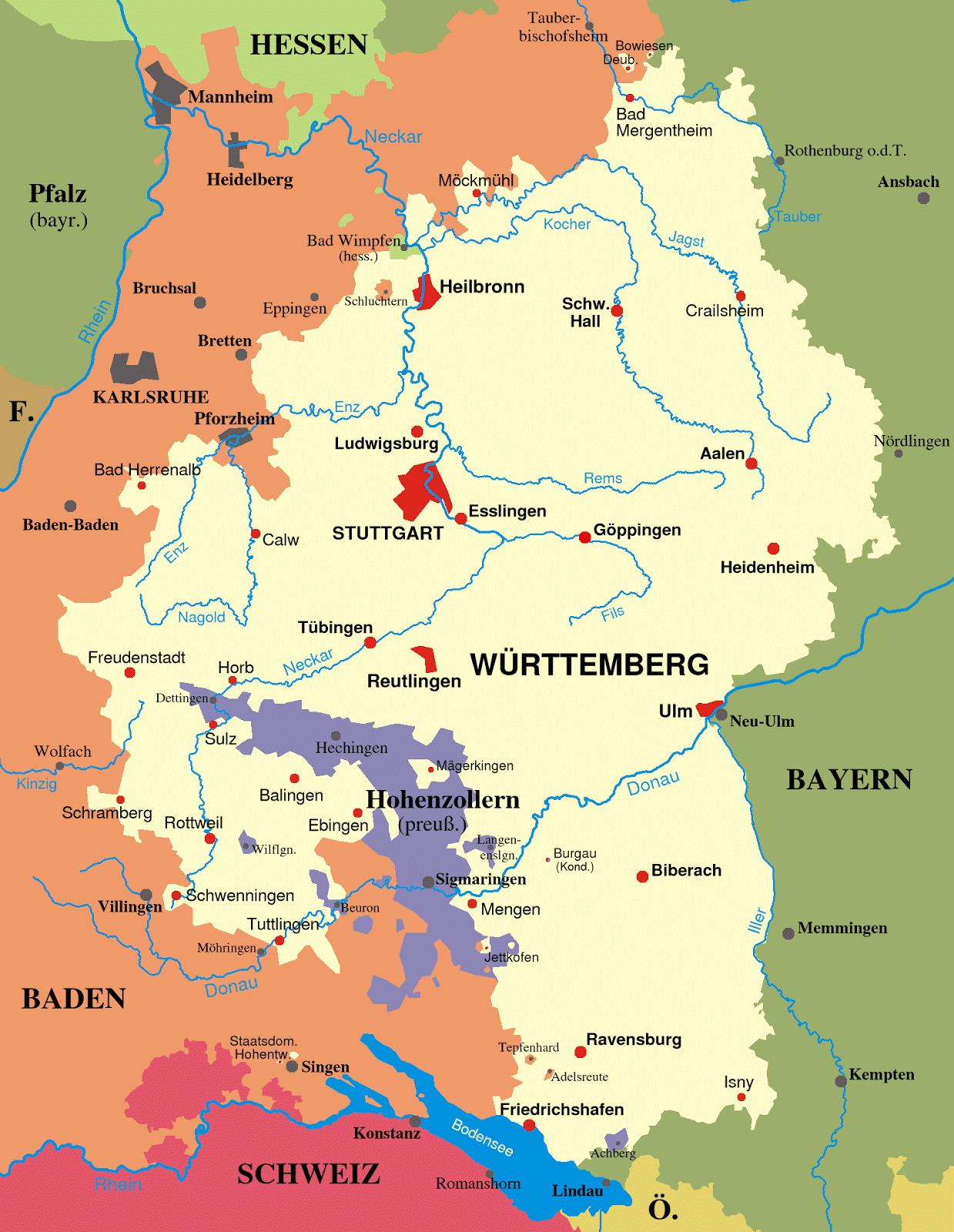 Big Blue 1840-1940: Wurttemberg