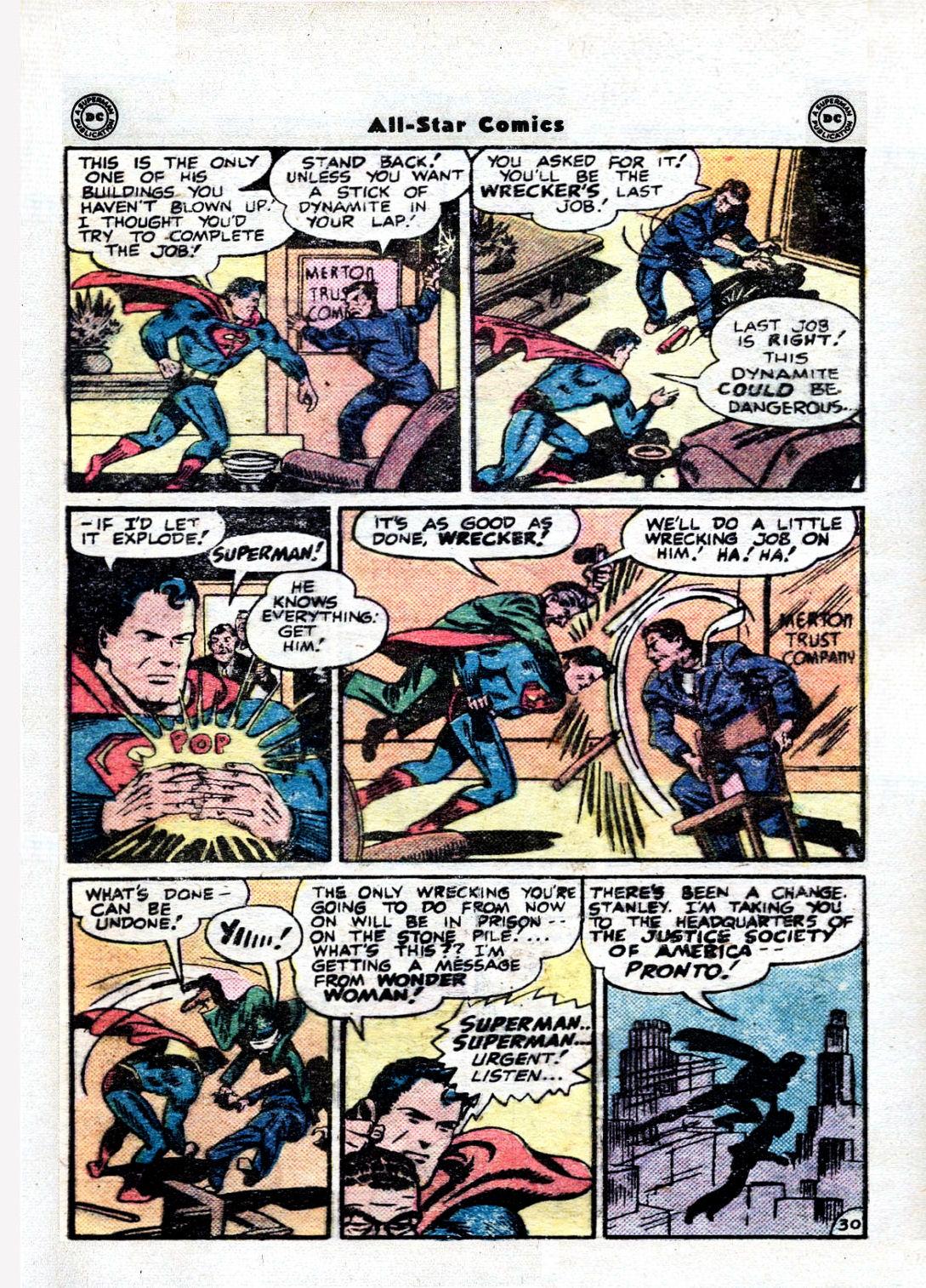 Read online All-Star Comics comic -  Issue #36 - 35