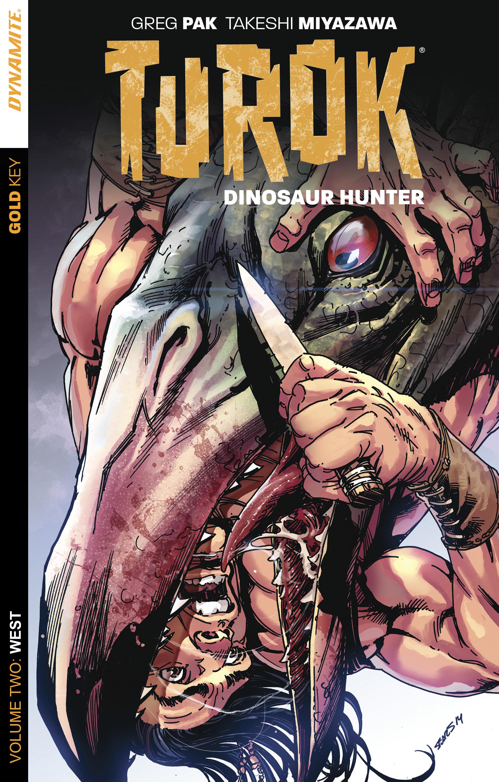 Read online Turok: Dinosaur Hunter (2014) comic -  Issue # _TPB 2 - 1