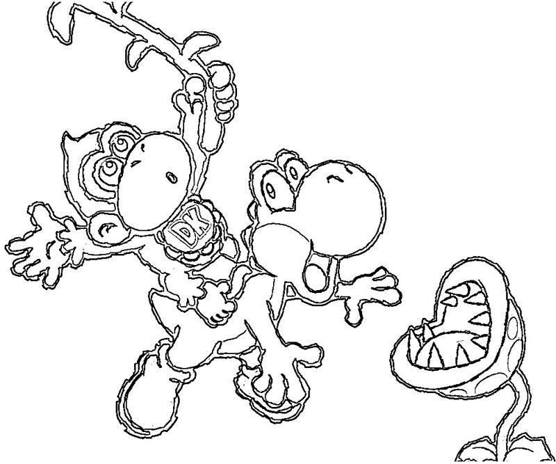 46 yoshi 39 s island ds part 4 yumiko fujiwara for Ds coloring pages