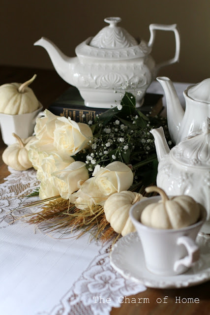 Neutral Fall Tea: The Charm of Home