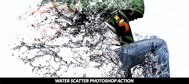 Water Explosion Photoshop Action