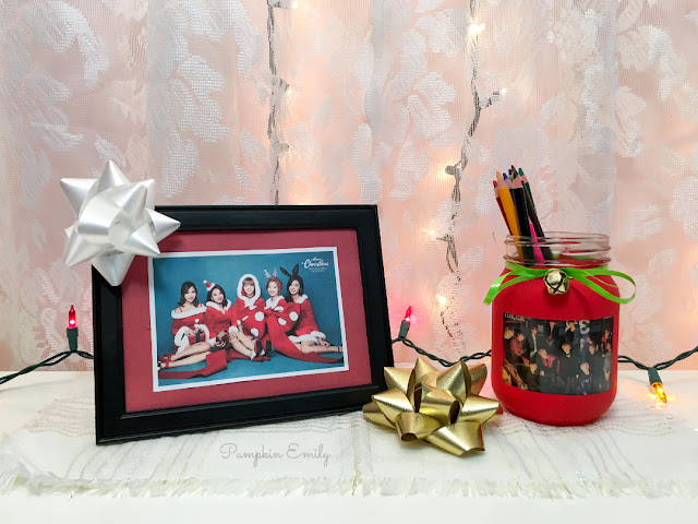 DIY Kpop Picture Frame and a Picture Mason Jar DIY
