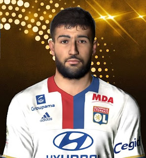 PES 2017 Faces Nabil Fekir by Facemaker Ahmed El Shenawy