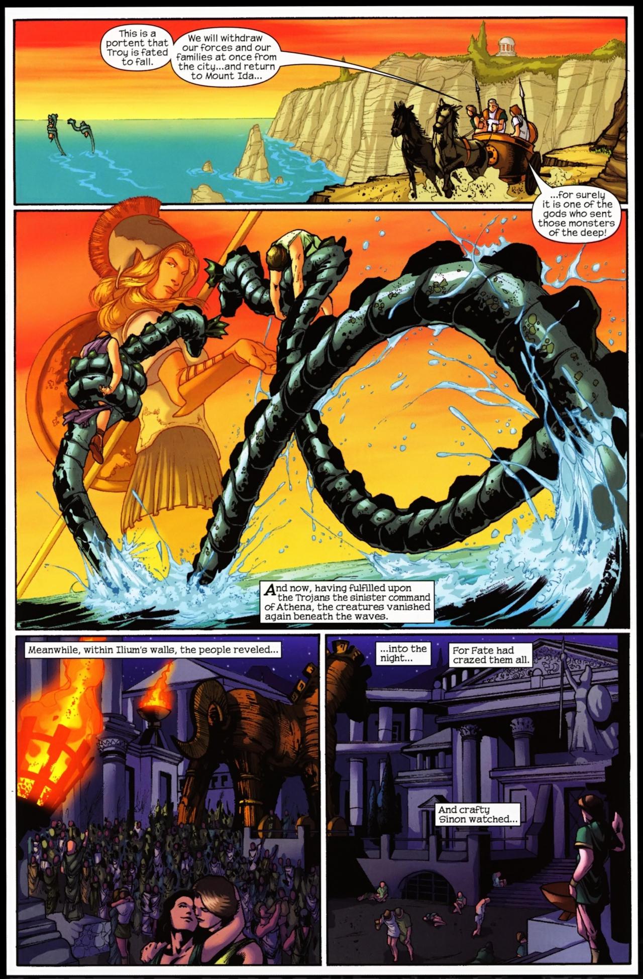 Read online Trojan War comic -  Issue #5 - 5