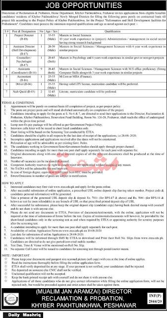 home-department-kpk-govt-jobs-2020.apply-online