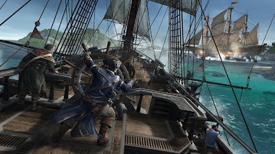 Assassin's Creed III battaglia navale