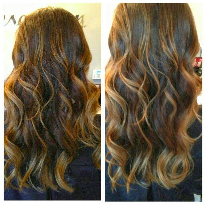Dark brown hair to caramel color hair color highlighting and brown hair with caramel highlights 2bpspot pmusecretfo Images