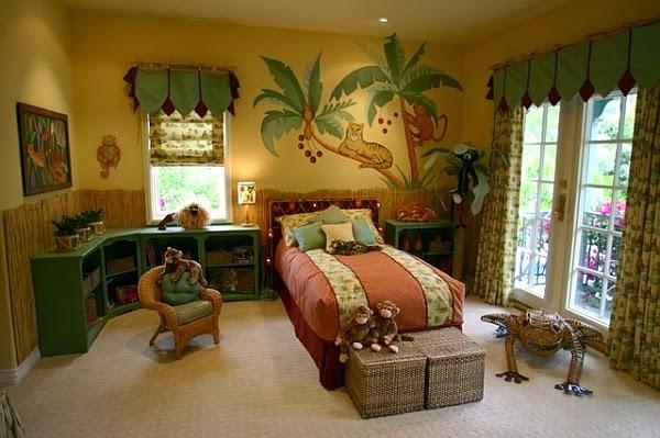 cuarto infantil jungla