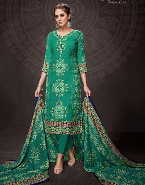 Belliza Designer Aisha vol 4 Woolen Salwar kameez
