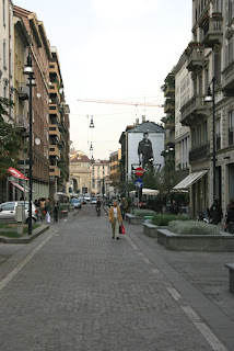 Corso Garibaldi in Milan, looking towards Porta Garibaldi