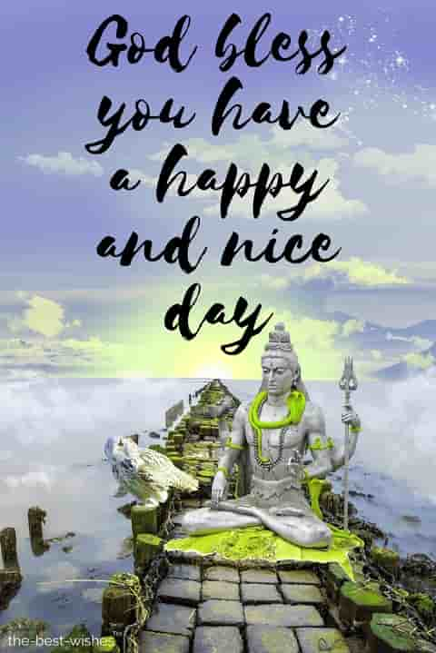 shiva lord shiva god bless you have a happy and nice day