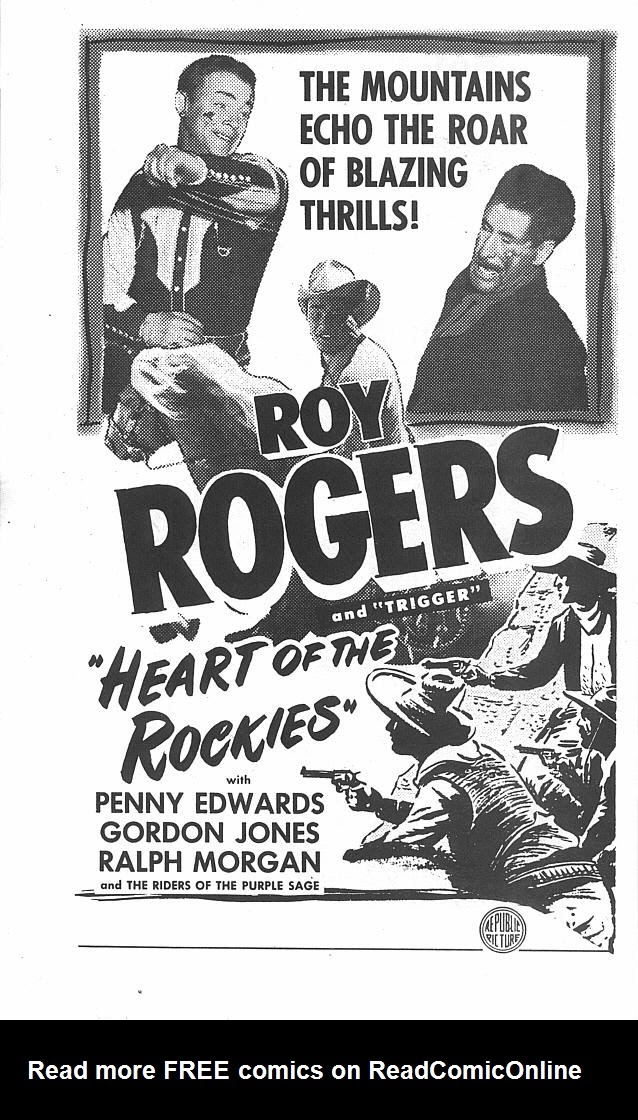 Read online Roy Rogers comic -  Issue #4 - 40