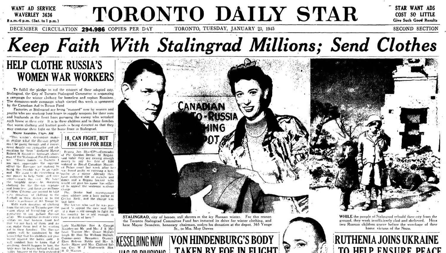 Toronto S Stalingrad