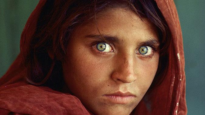 Foto Afghan Girl Sharbat Gula