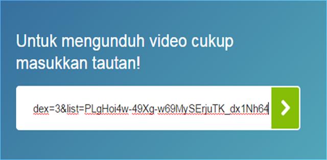 Download video atau film dengan mudah malalui id.savefrom.net