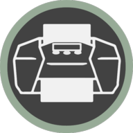 print icon outline