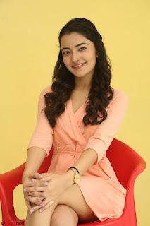 Rukshar Mir in a Peachy Deep Neck Short Dress 033.JPG