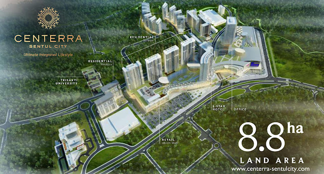 Centerra Sentul City Superblock 8.8 ha
