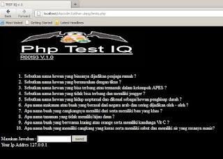 php test iq
