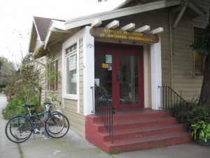 Historic Fellowship Hall in Berkeley