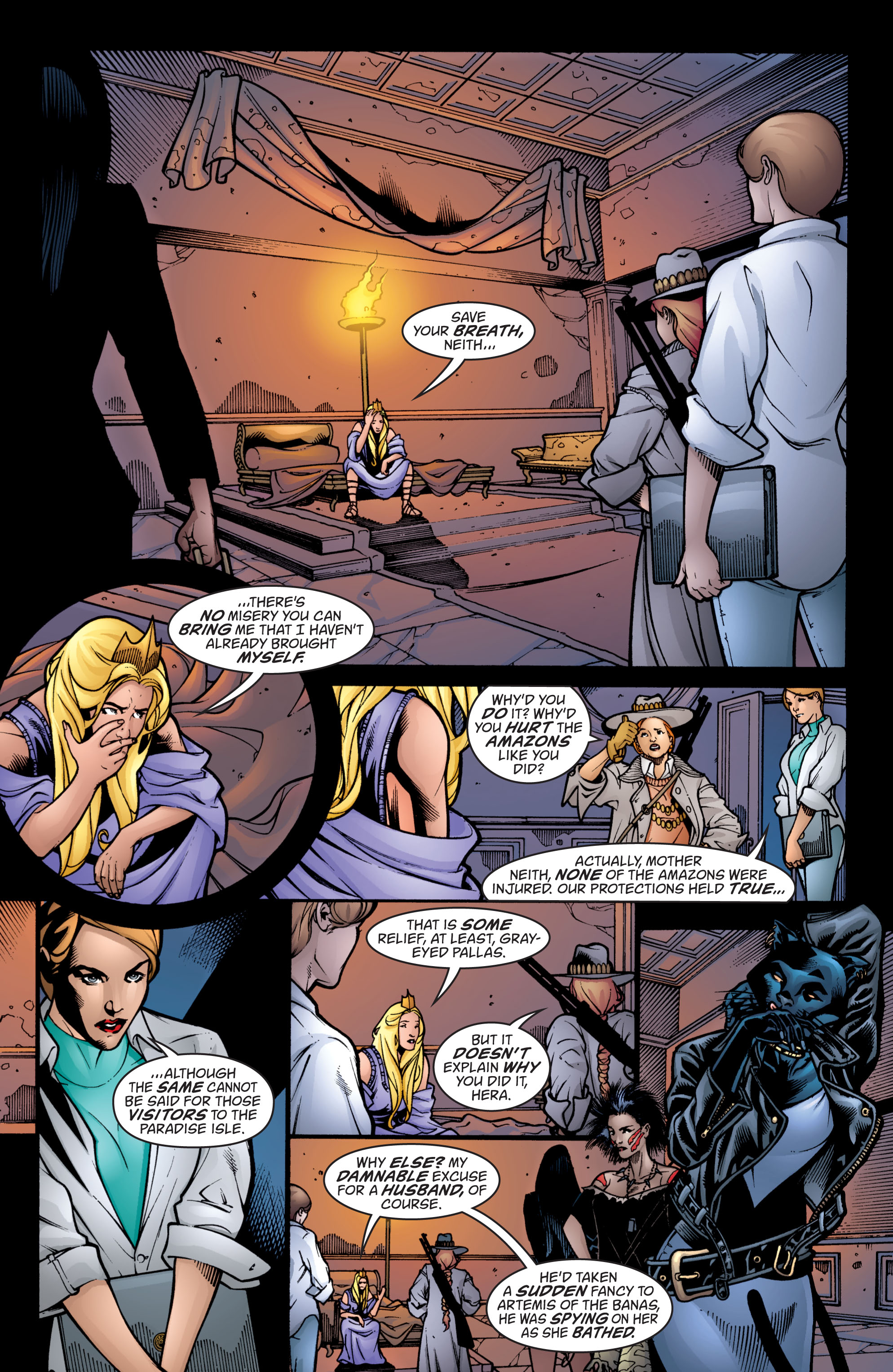 Read online Wonder Woman (1987) comic -  Issue #206 - 5