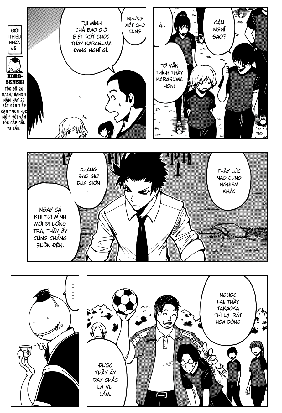 Ansatsu Kyoushitsu chap 39 trang 4