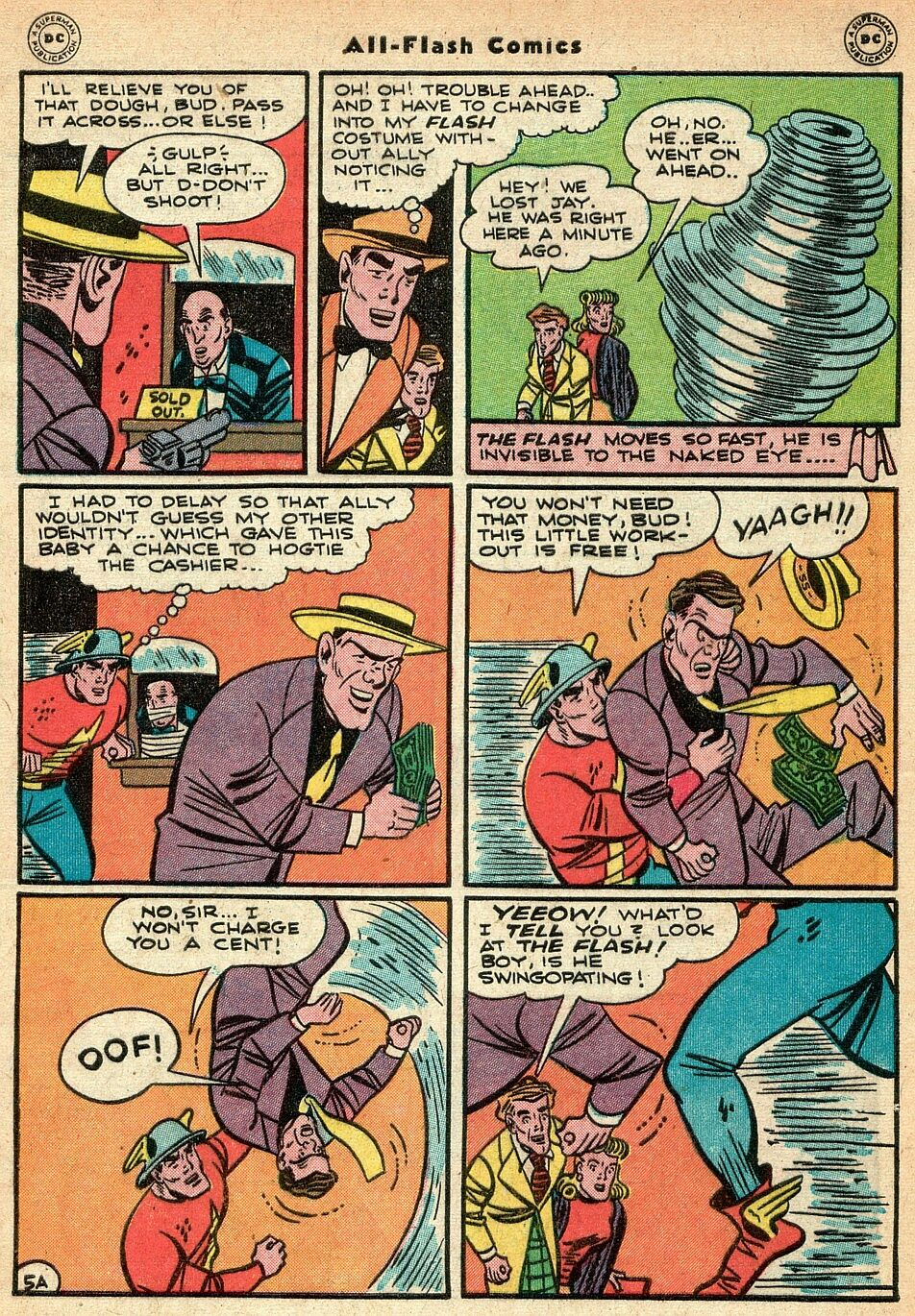 Read online All-Flash comic -  Issue #25 - 6