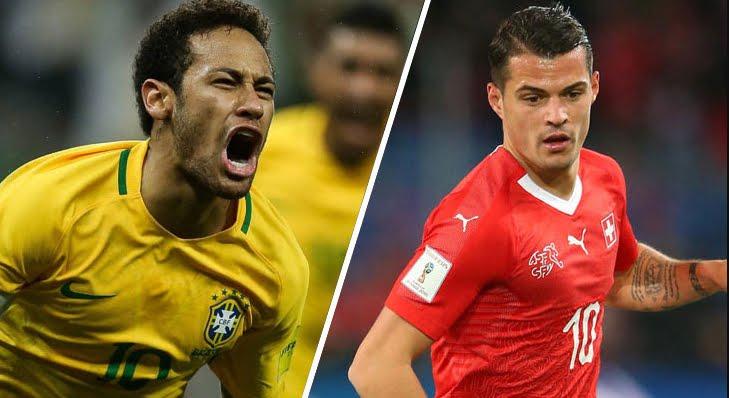 Mondiali 2018: BRASILE-SVIZZERA Streaming e Diretta TV su Canale 5