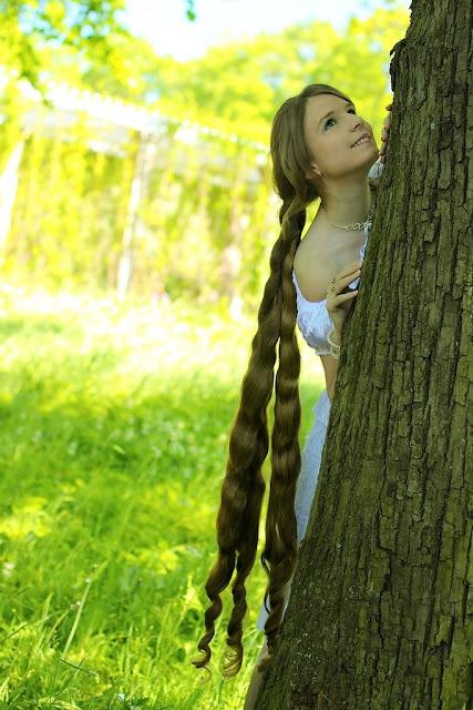Beautiful extra long hair