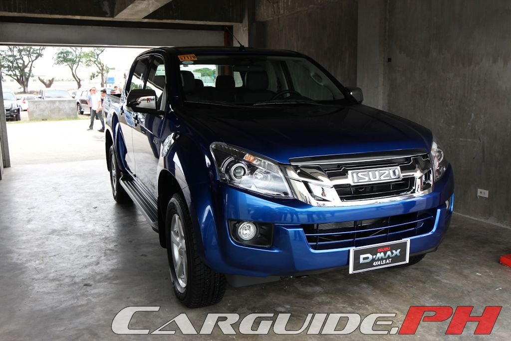 Isuzu Revamps D Max For 2015 Adds Vgs To Turbo Philippine Car
