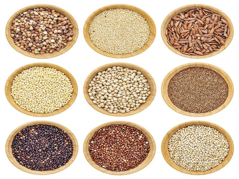 9 grãos sem glúten que são super saudáveis