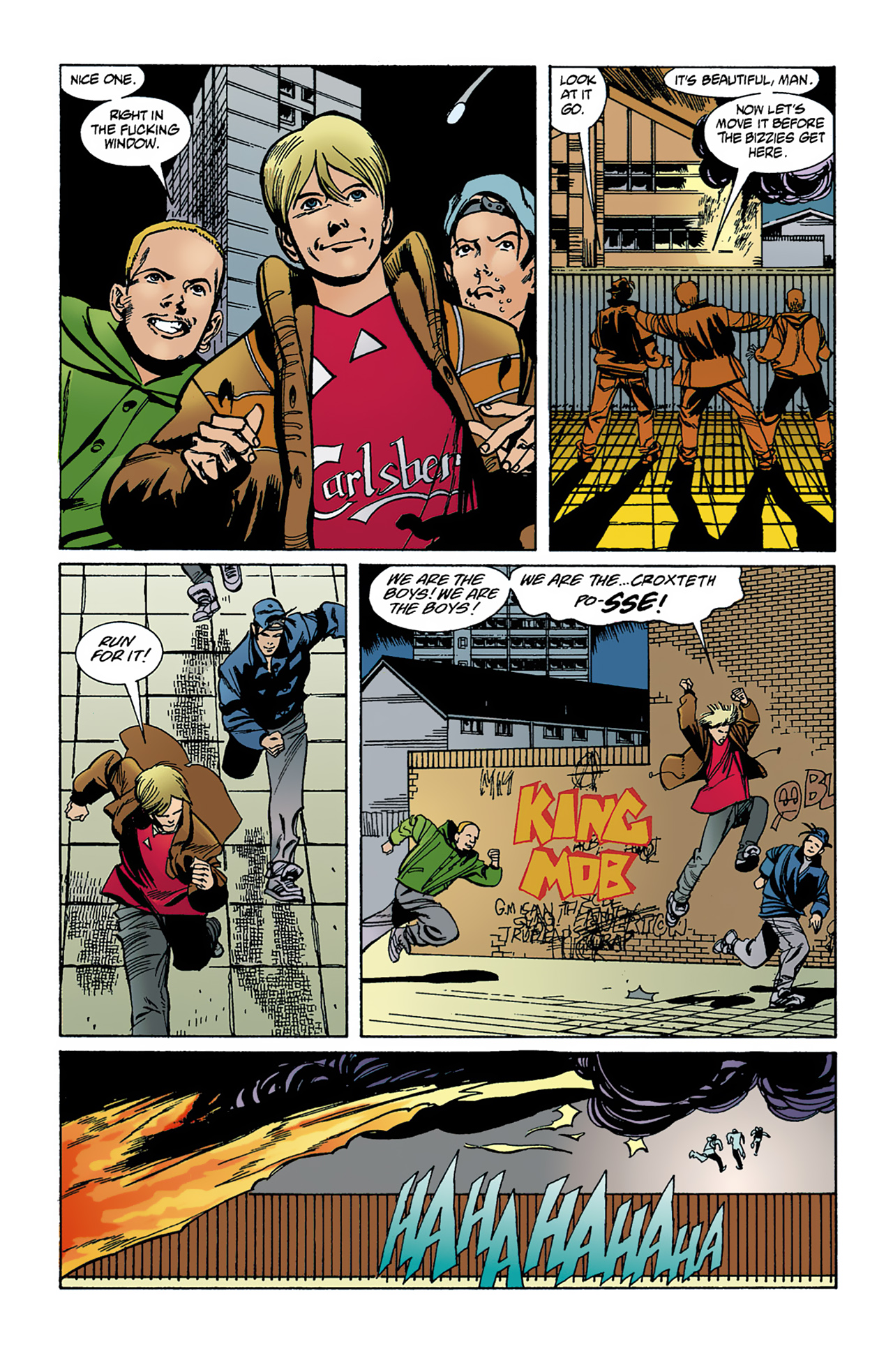 The Invisibles (1994) 1 Page 4