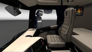 Black Beige Interior for Scania Streamline