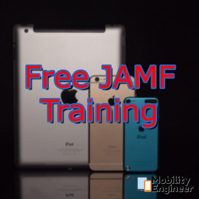 Free JAMF Training
