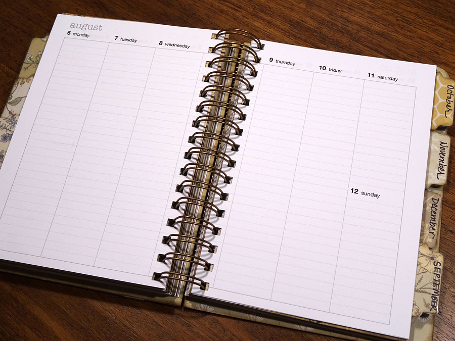 Annette 39 s creative journey how to create your own 2018 for Create my own planner