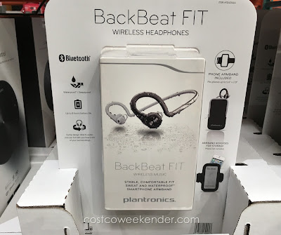 Listen to your music or make a phone call with the Plantronics BackBeat FIT Wireless Headphones