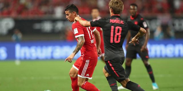 Bayern Munchen 1 (3) - (4) 1 Arsenal