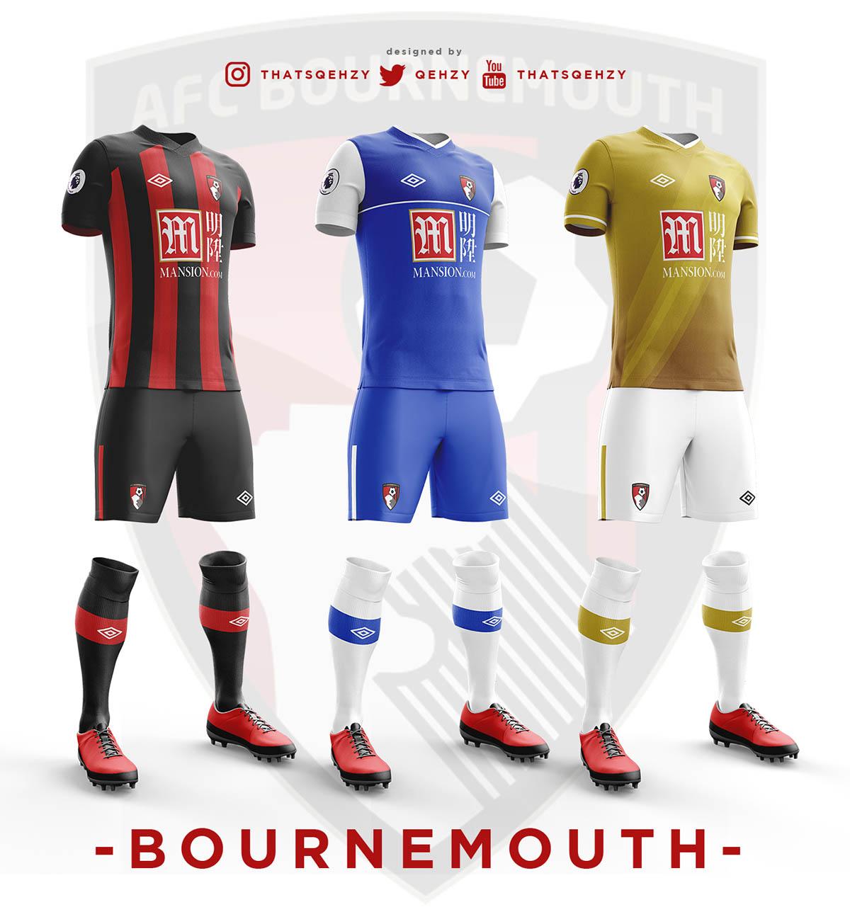 2017 18 Premier League Concept Kits All