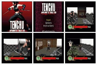 Tenchu Ayame's Tale 3d