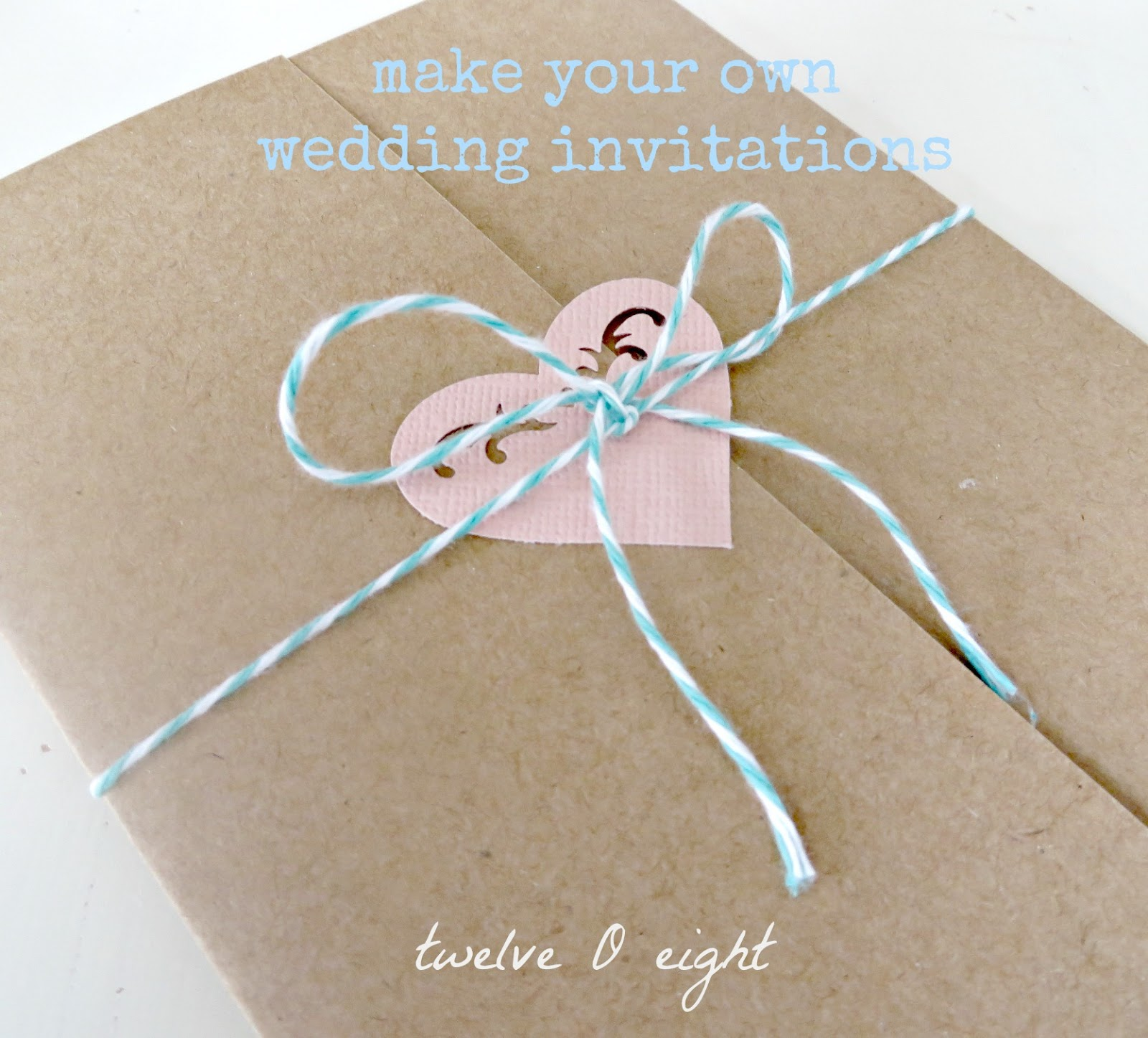 Make Your Own Wedding Invites Ideas: Wedding Invitations On A Budget