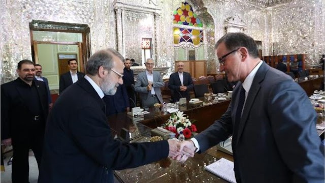 Political dialogue only solution to Mideast problems: Ali Larijani