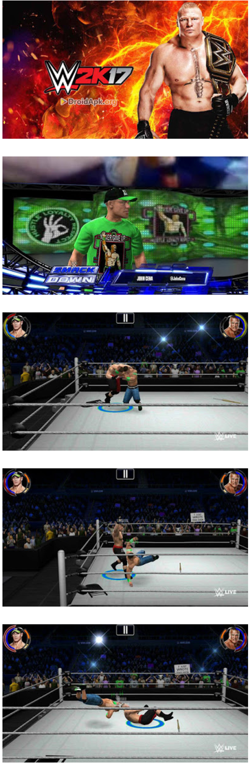 Download WWE 2K 17 Mod Apk for PPSSPP Android Terbaru