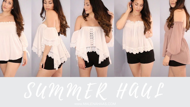 Affordable Summer Fashion Haul  - Fashion For Mom Life - www.MalenaHaas.com