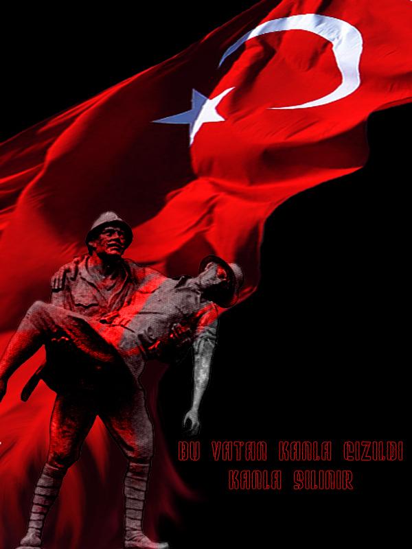 Turkish Flag T 220 Rk BayraĞi Kahraman T 252 Rk Askerleri