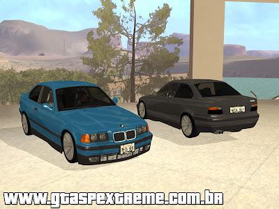 BMW E36 320i - Tunavel para GTA San Andreas