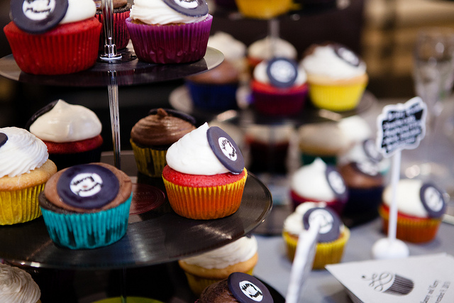 schallplatten cupcakes selber machen