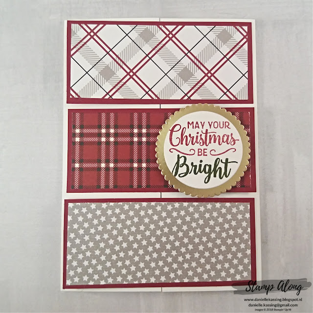 Stampin' Up! Festive Farmhouse DSP