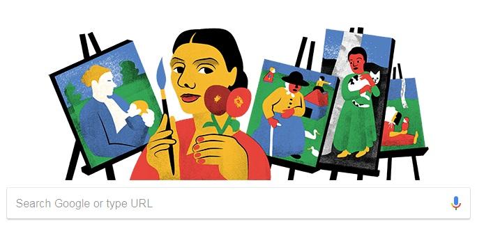 Profil Paula Modersohn Becker Pelukis Jerman Tampil Di Google Doodle